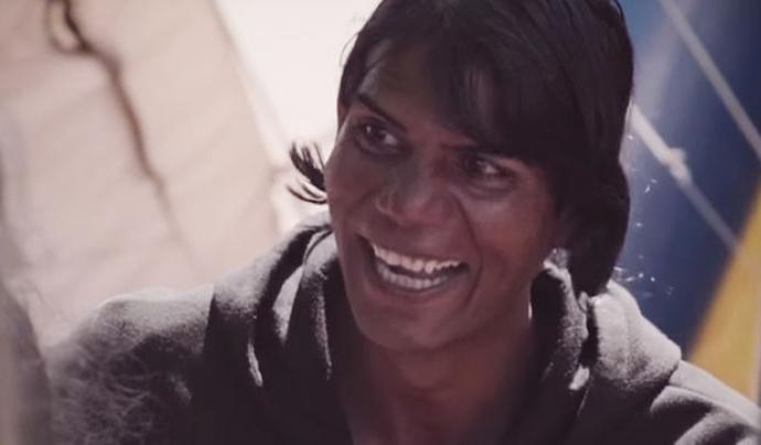 Fotografia de Natasha, la protagonista del documental.
