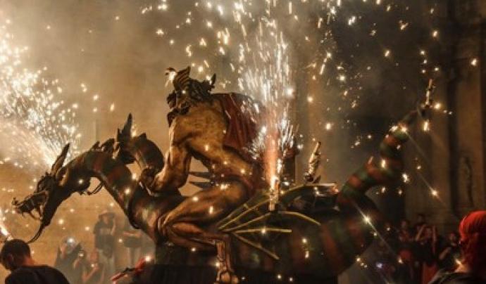 La Nit del Foc torna a comptar amb figures vingudes de diferents punts de Catalunya. Font: Festes de la Tardor de Lleida