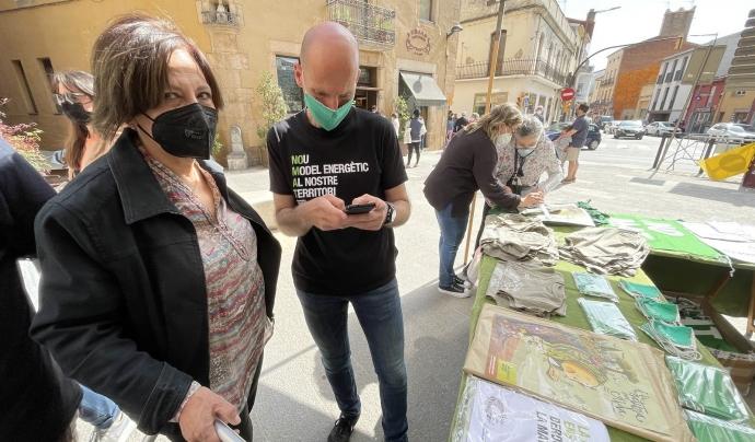 S'han presentat més de 1.500 al·legacions contra el ramal de la MAT. Font: No a la MAT Selva