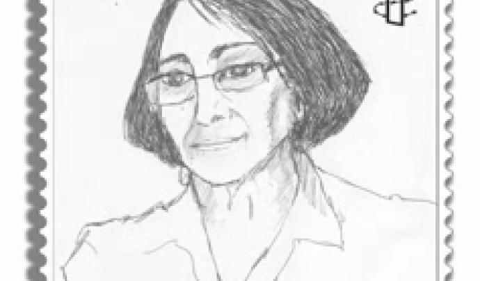Retrat de Norma Cruz, activista guatemalenca