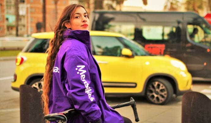 Mensakas va néixer al 2018 arrel de la lluita sindical de riders per drets. Font: Juan Manuel Maidana, La Factoria