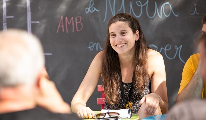 La directora de l'Ésdansa, que debuta aquest any en el càrrec, Núria Feixas Font: Martí Albesa