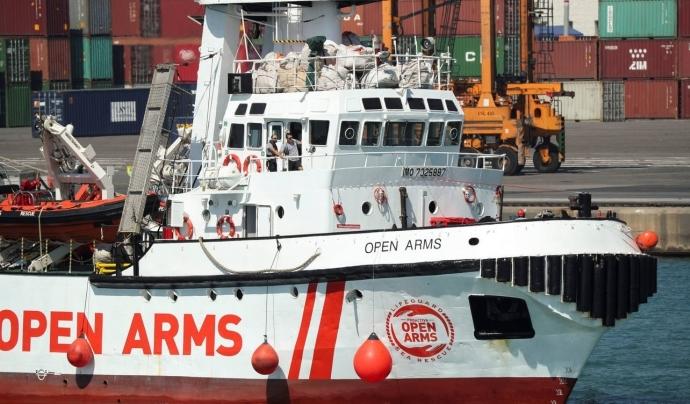 Open Arms ha començat a recolzar als equips sanitaris d'atenció primària de l'ICS. Font: Open Arms
