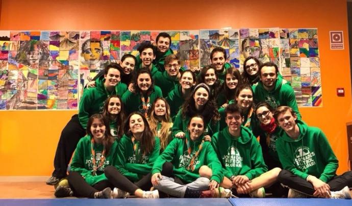 Membres organització Futbol Solidari