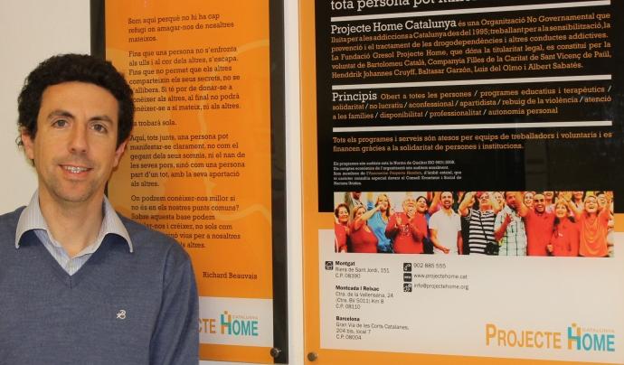 Oriol Esculies és psicòleg i director de Projecte Home Catalunya