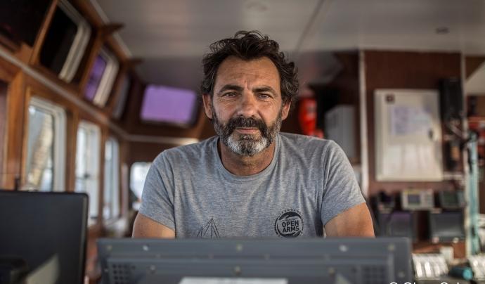 El fundador d'Open Arms alerta que en els darrers 5 anys més de 18.000 persones han perdut la vida al mediterrani. Font: Open Arms. Font: Font: Open Arms.