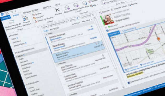 Outlook és un altre client de correu electrònic. És de la casa Microsoft.