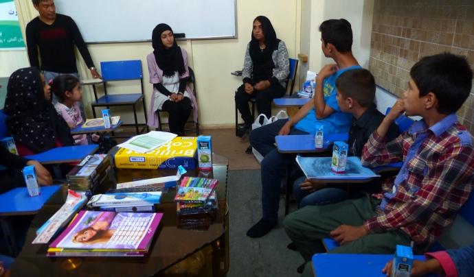 L'activista pels Drets Humans va crear l'associació 'Ponts per la pau'  Font: Nadia Ghulam