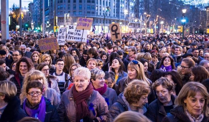 """Més de 130 entitats feministes han signat el document """"La violència masclista no s'atura davant del COVID-19"""". Font: Gaudí Ramone (Llicència: CC)"""
