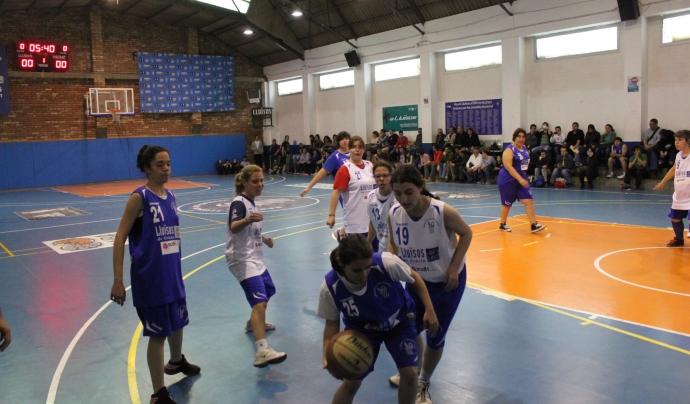 Partit equip femení AcidH-Lluïsos Gràcia.