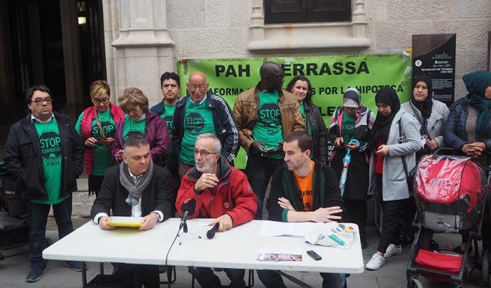 Les entitats de Terrassa demanen un procés participatiu per fer un Pla local d'Habitatge Font: Malarrassa.cat