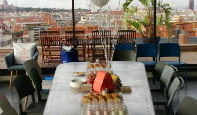 El servei de càtering solidari de Mujeres Palante promou la sobirania alimentària Font: Cooperativa Mujeres Palante