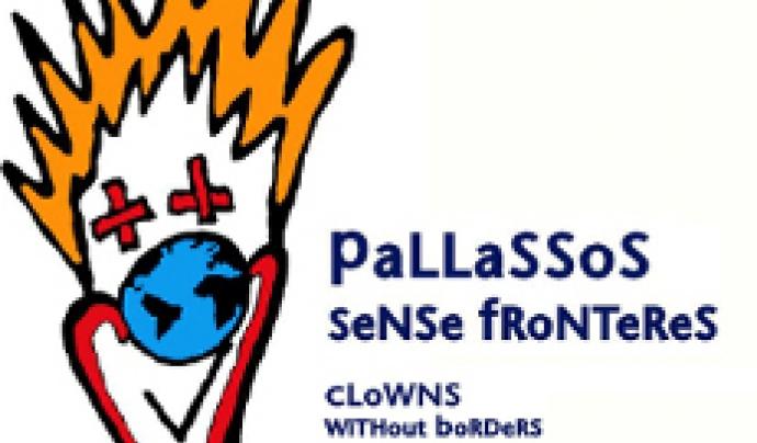 Logo de Pallassos Sense Fronteres.