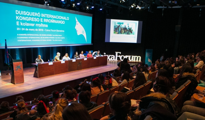 El II Congrés Internacional de les Dones Gitanes ha aplegat 350 dones