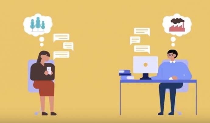 Captura vídeo Participa gencat, una eina per construir una societat més oberta, transparent i col·laborativa