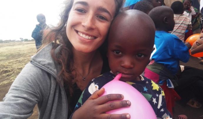 Patricia Calvo de l'ONG 'Voluntariado África' Font: Patricia Calvo