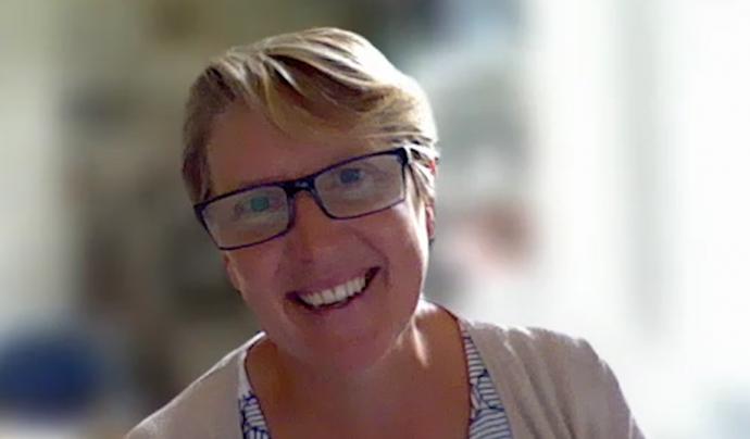 Patricia Lucas, consultora d'investigació independent i professora a la Universitat de Bristol, Regne Unit. Font: Carlos Faneca