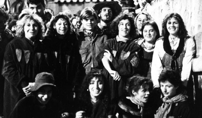 Grup de Dones Patumaires el 1987 Font: La Patum