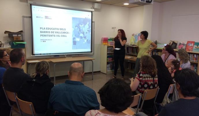 S'hi han dut a terme tant sessions participatives presencials com en línia a través de la plataforma Decidim Barcelona. Font: Fundació Ferrer i Guàrdia
