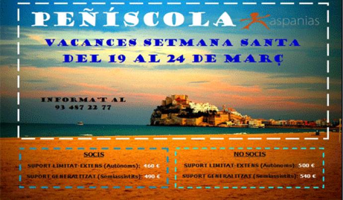 Vine a Peñíscola Amb Aspanias. Font: