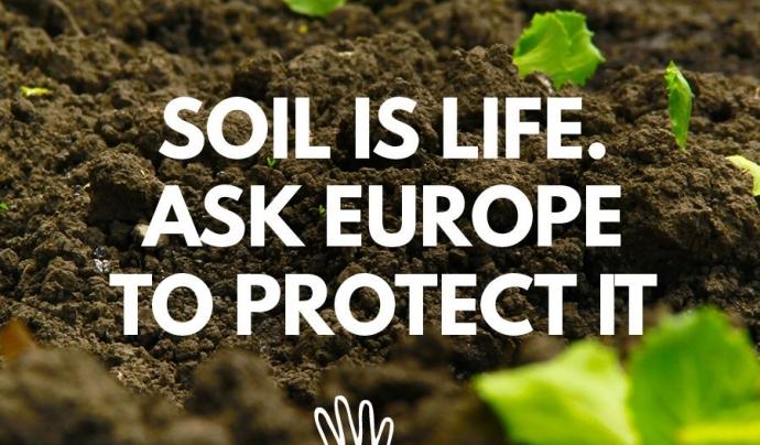 People4Soil reclama a Europa una directiva per la protecció del sòl (imatge: people4soil.eu)