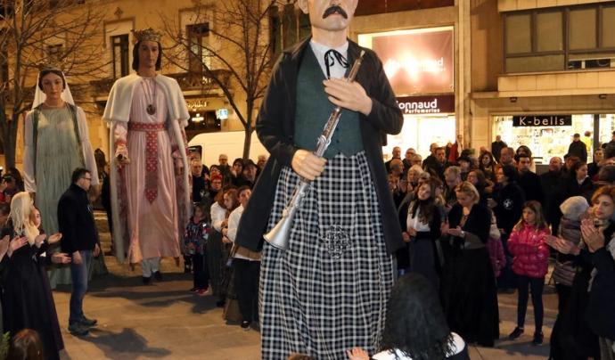 Gegant Pep Ventura de Figueres.