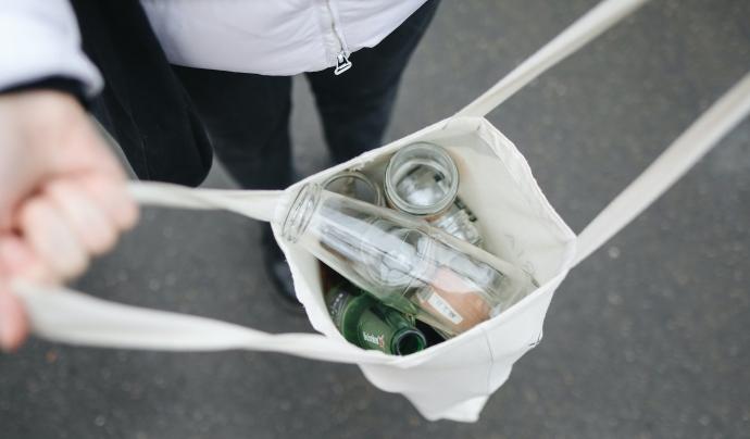 El vidre és un material molt fàcil de reciclar. Font: CC