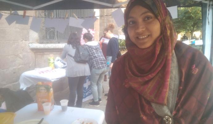 Moriam Shake, participant a l'ApS sobre violències masclistes organitzat per Metges del Món Font: Marta Rius