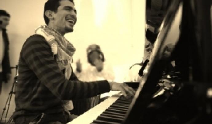 #PianoPelsRefugiats (Barcelona, 2 de març).