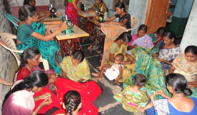 Imatge de denúncia de treball infantil