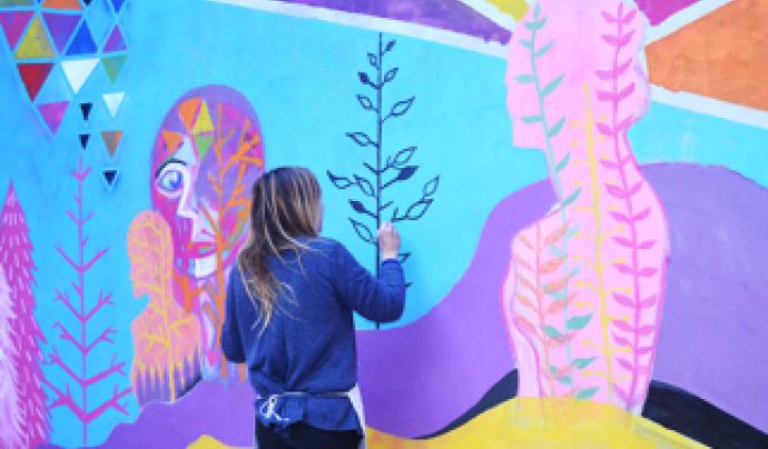 La creació artística és un dels valors que promou l'entitat entre la seva comunitat.