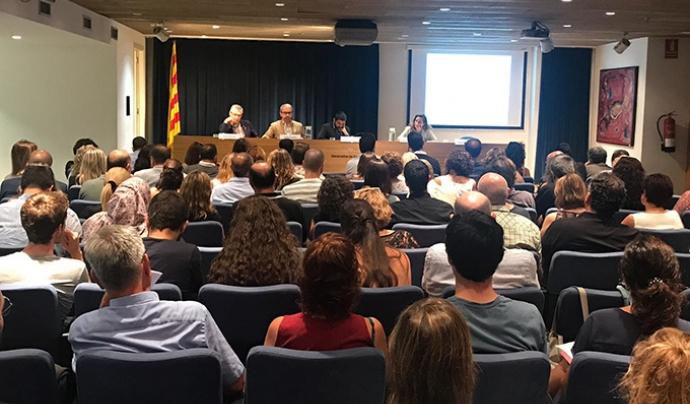 Imatge de la reunió entre el Departament de Treball, Afers Socials i Famílies i els ens locals. Font: Generalitat de Catalunya Font: Associació Catalana de Municipis