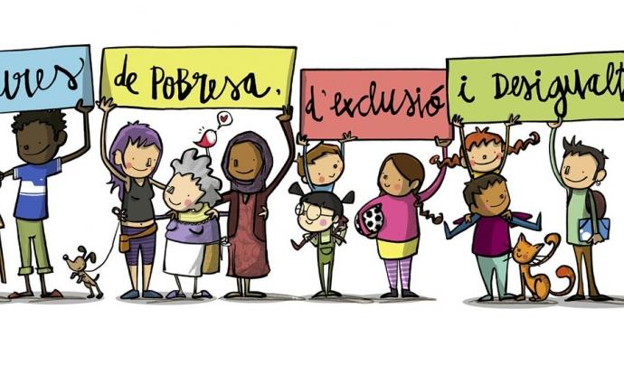 El Projecte Lliures lluita contra la pobresa i l'exclusió social a Catalunya. Font: Joan Turu