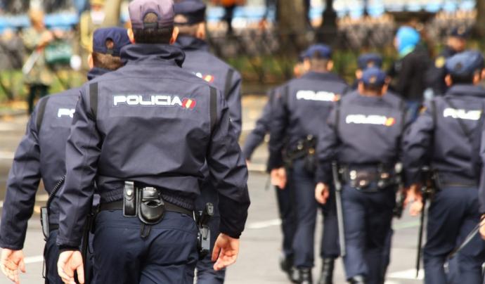 Policia Nacional Espanyola.
