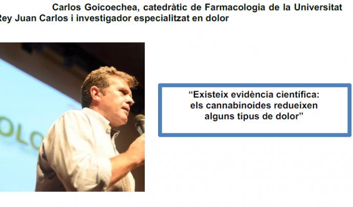 Carlos Goicoechea, un dels ponents Font: Cannabmed