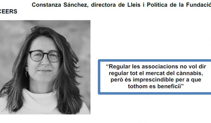 Constanza Sánchez, ponent a Cannabmed 2020 Font: Cannabmed