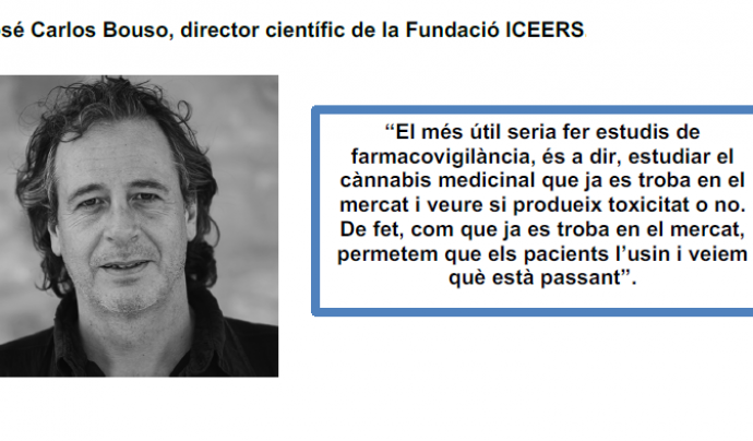 Juan Carlos Bouso, ponent a Cannabmed 2020 Font: Cannabmed
