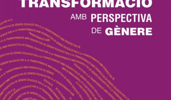 """Portada del catàleg """" Educació per a la transformació amb perspectiva de gènere"""" Font: ABD"""