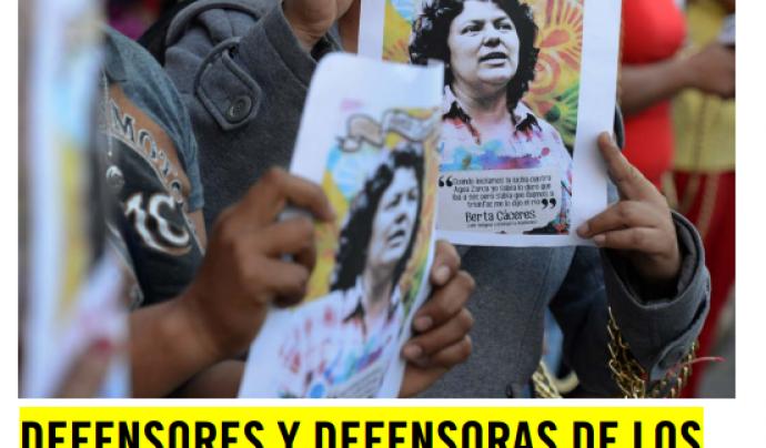 Defensors i defensores dels drets humans sota amenaça Font: Amnistia Internacional