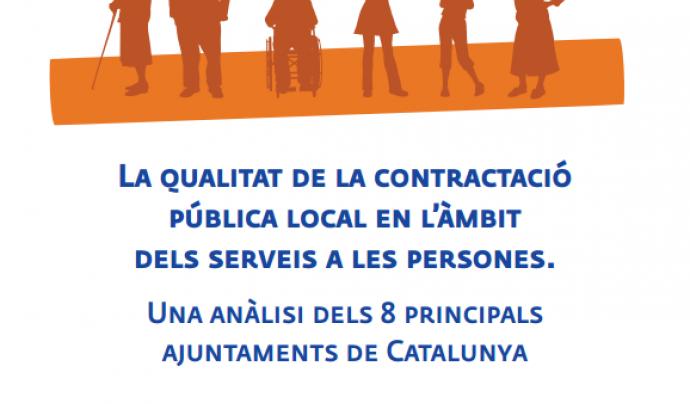 La portada de l'informe de la Taula del Tercer Sector. Font: Taula del Tercer Secto