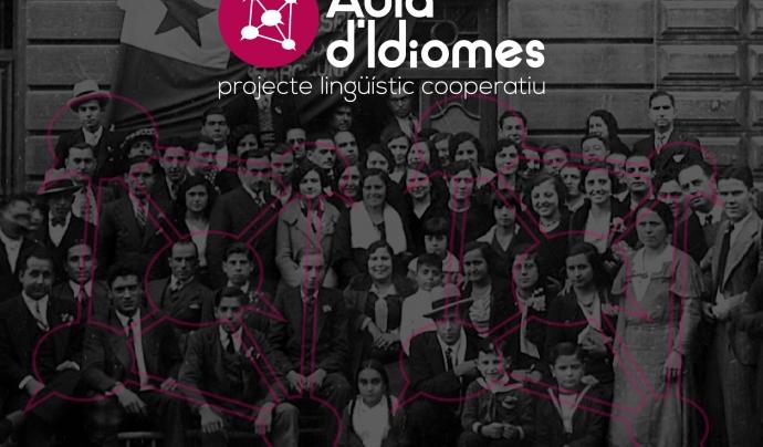 Pòster de l'Aula d'Idiomes Font: Aula d'Idiomes