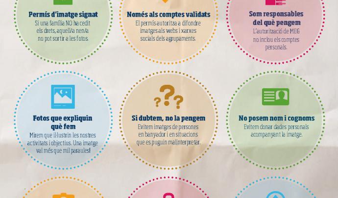 Pòster xarxes socials Font: Minyons Escoltes i Guies de Catalunya