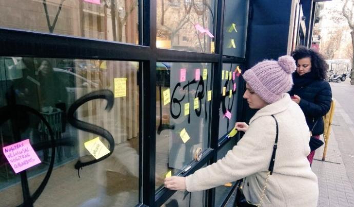 En el que portem d'any i només a Barcelona, l'Observatori ha detectat 44 casos de violència. Font: Ajuntament de Barcelona