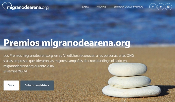 Premios migranodearena.org Font: migranodearena.org