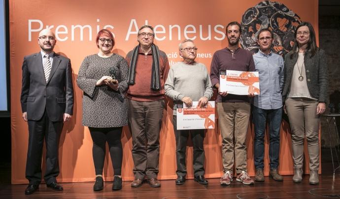 Premis Ateneus 2017 a la Capacitat d'Innovació Font: Toni Galitó