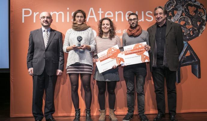Premis Ateneus 2017 a la Comunicació Associativa Font: Toni Galitó