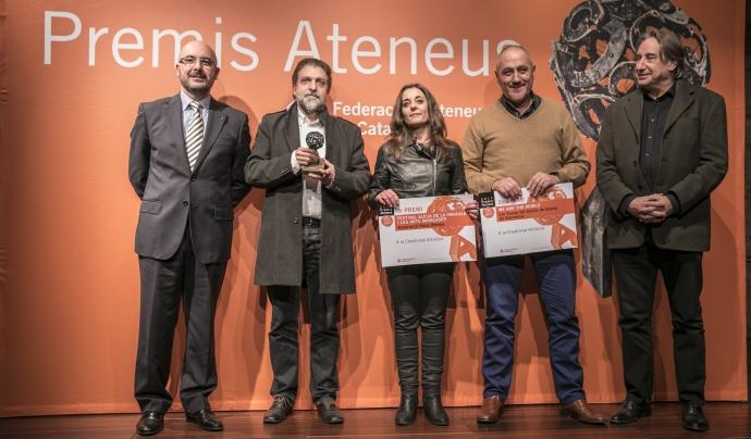 Premis Ateneus 2017 a la Creativitat Artística Font: Toni Galitó