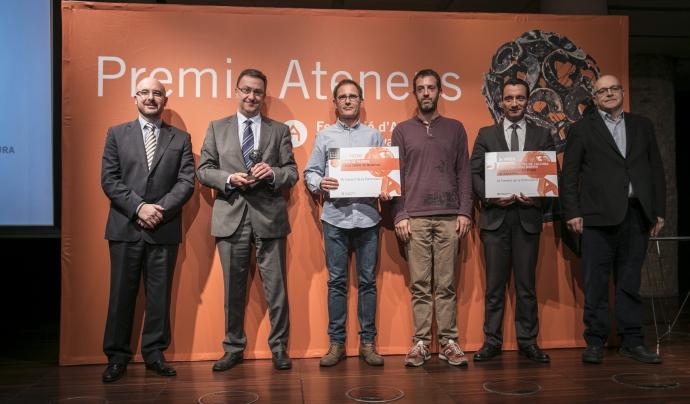 Premis Ateneus 2017 al Foment de la Participació Font: Toni Galitó