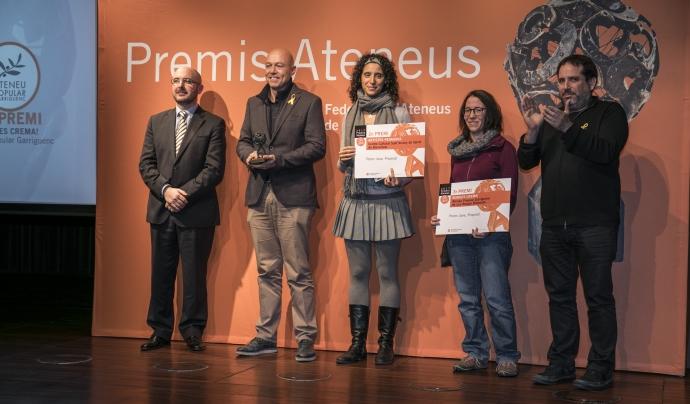 Premis Ateneus 2017 al Premi, Jove Proposa! Font: Toni Galitó