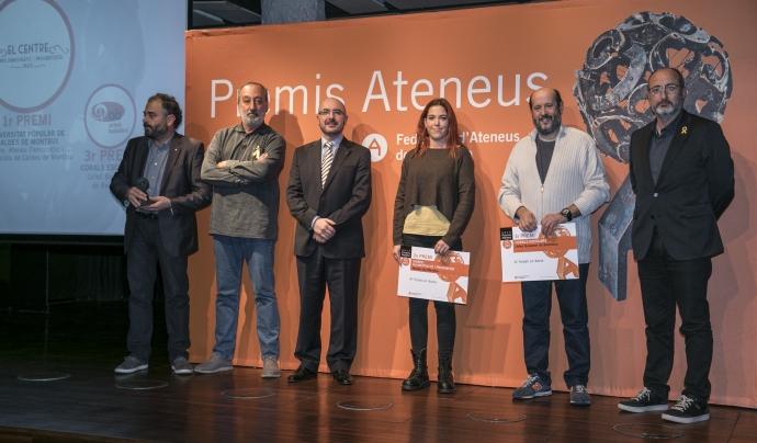 Premis Ateneus 2017 al Treball en Xarxa Font: Toni Galitó